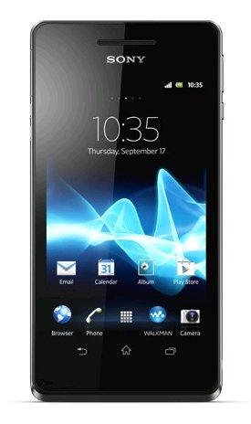 Sony Xperia V Lt25I Unlocked Phone 13Mp Camera, 8Gb Internal, Android Os, Water Resistant - International Version - Black