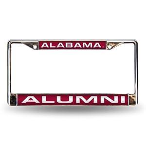 Alabama Crimson Tide Alumni Laser Chrome License Plate Frame