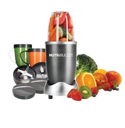 Nutri Bullet NBR-12 12-Piece Hi-Speed Blender/Mixer System, Gray: Amazon.ca: Kitchen & Dining