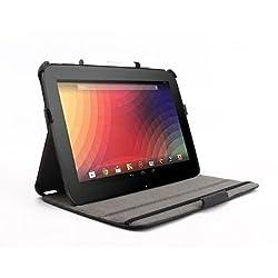 Koolertron Ultra Silm PU(poliuretano) Funda de alta calidad para Google Nexus 10 Tablet