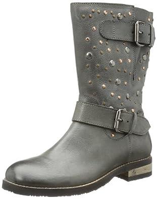 Gabor girls Angie 77 311 02, Mädchen Biker Boots, Schwarz (black), EU 41