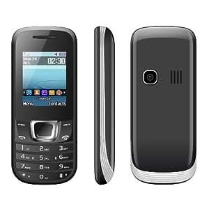 "VOX 1.8"" Screen Smart Multimedia 3 Sim Mobile - V3100 Black"
