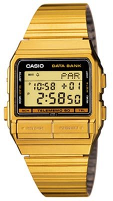 Casio Men Collection : Popolar GOLD DATA BANKCasio Watc