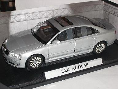 AUDI A8 A 8 SILBER SILVER LIMOUSINE