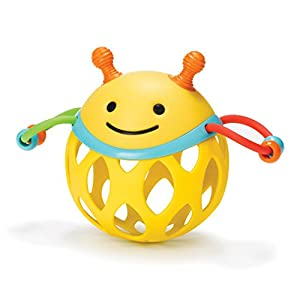 Skip Hop Explore and More Roll Around Toy, Bee