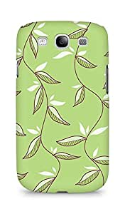 Amez designer printed 3d premium high quality back case cover for Samsung Galaxy S3 Neo (Green Leaves)