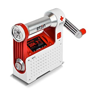 Eton Self-Powered Safety Hub with Weather Radio and USB Cell Phone Charger