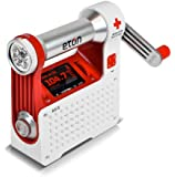 Eton American Red Cross Axis Self-Powered Safety Hub with Weather Radio and USB Cell Phone Charger (ARCPT300W)