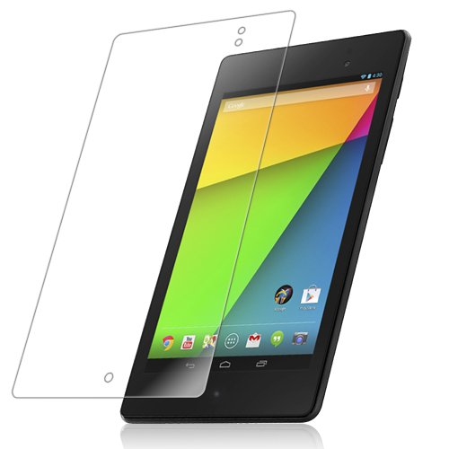 Iq Shield Liquidskin - Google Nexus 7 (2Nd Generation) Screen Protector With Lifetime Replacement Warranty (2013) - High Definition (Hd) Ultra Clear Tablet Smart Film - Premium Protective Screen Guard - Extremely Smooth / Self-Healing / Bubble-Free Shield