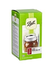 Ball 30000 Regular Canning Jar Bands and Lids, Silver by