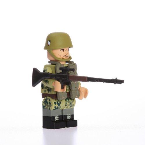 Buy Low Price Blockhead WWII German Fallschirmjager (Paratrooper) Custom Building Figure (B004GWMNZ8)