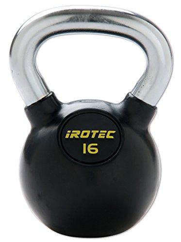 IROTEC(アイロテック) ケトルベル 16KG (ラバーコーティングタイプ)