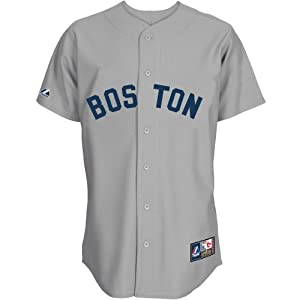 Majestic Athletic Boston Red Sox Ted Williams Replica Cooperstown Road Jersey by Majestic Athletic