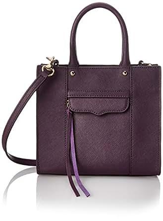 Rebecca Minkoff Mab Tote Mini Cross Body Bag, Aubergine, One Size