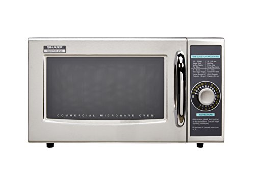 For Sale! Sharp R-21LCF Commercial Microwave Oven, Dial, 1000 Watts