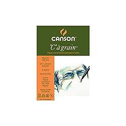 Canson C a' grain 180 GSM A3 Pack of 5 Fine Grain Sheets