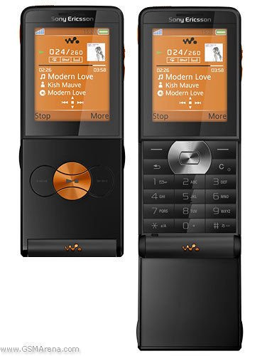 Sony-Ericsson-W350a-Black-AT-T-Cell-Phone