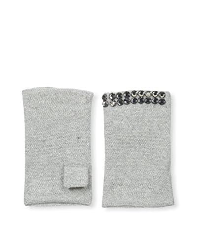 Portolano Women's Gloves, Grigio Chiaro Melange, One Size