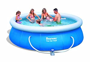 Bestway 57166GS Fast Pool Set mit Filterpumpe GS, 366 x 91 cm