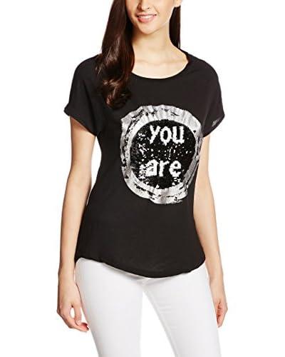 Desigual Camiseta Manga Corta Negro