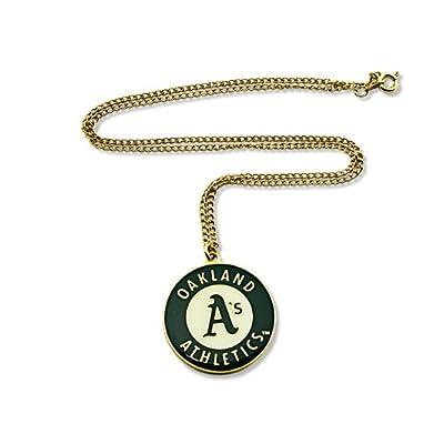 MLB Oakland Athletics Team Logo Necklace