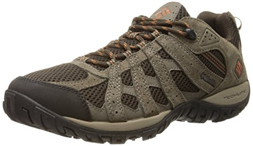 Columbia Men's Redmond Trail Shoe, Cordovan/Dark, 9.5 M US