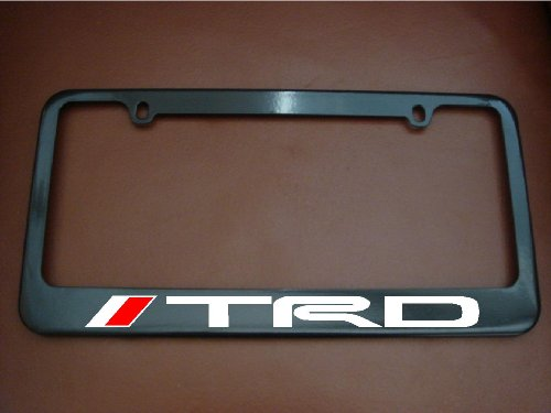 TRD License Plate Frame Black (Black Trd License Plate Frame compare prices)