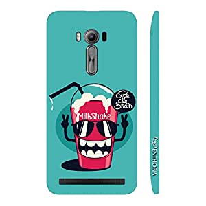 Enthopia Designer Hardshell Case Brain In My Shake Back Cover for Asus Zenfone 2 Laser ZE500KL