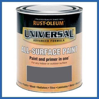 Rust-Oleum RO0030105G1 750ml Universal Paint - Gloss Slate Grey
