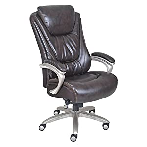 Serta Smart Layers Big and Tall Executive Leather Office Chair