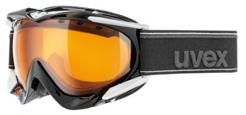UVEX Skibrille Apache, black shiny, OS, S55.0.079.2120