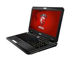 MSI 15.6-Inch Full HD Anti-reflective Display, Intel Core i7-3630, NVidia GTX680M 4G, 12GB RAM, 750GB HDD, BD Burner, GT60 0NE-404US (Black)