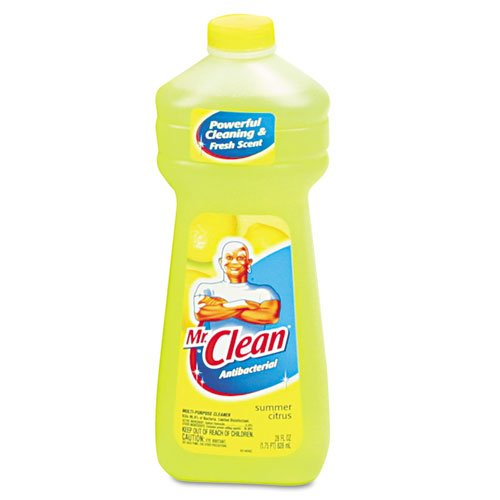 Mr. Clean Products - Mr. Clean - All-Purpose Cleaner, 28 oz. Bottle - Sold As 1 Each - Versatile cleaner for any hard, washable surface. - Leaves no dulling streaks. -