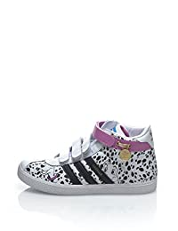 Adidas Originals Girl's Gazelle 101 Dalmatians And US6.5 White