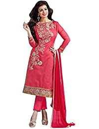 Jay Varudi Creation Women Cotton Dress (Women's Clothing Dress For Women Latest Designer Wear Dress Collection...