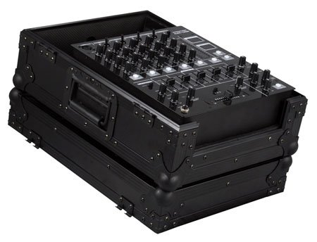 Marathon Flight Road Blk Series Case MA-12Mixblk 12-Inch DJ Mixer Case for Pioneer DJm-800, DJm-600, Denon Dn-X1500, Behringer Ddm-4000, Mx-1400.