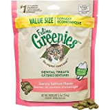 Feline Greenies Dental Treats Savory Salmon for Cats, 5.5-Ounce