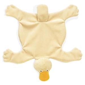 "North American Bear 8.5"" Flatopus Baby Cozie Blankie"