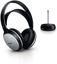 Philips SHC5100 Casque hi-fi sans fil Noir/Argent