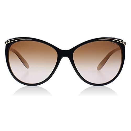 Ralph Women's RA 5150 Contemporary Ralph Plaque Cateye Sunglasses
