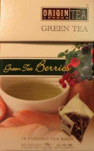 Ceylon Pearl Tea Sri Lanka Origin Tea Green Tea Berries Pyramids
