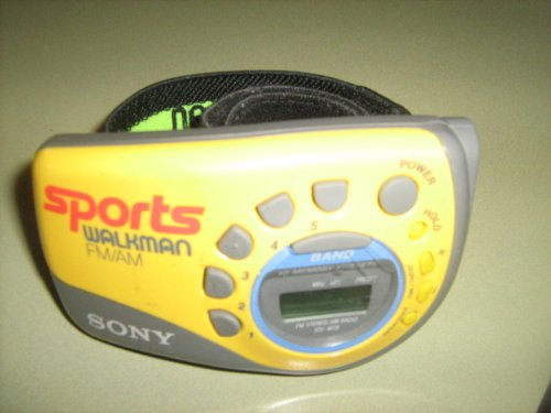 Sony Walkman Sports Armband Fm Stereo/Am Radio Model#Srf-M78