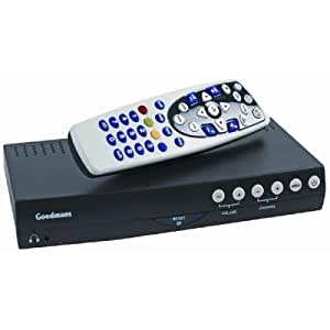 Goodmans Freeview Twin Scart Digital Set Top Box with Automatic Set Up and Auto Retune (Old model)