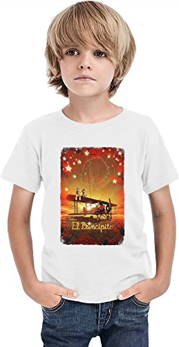 Le-Petit-Prince-Poster-Camiseta-de-los-muchachos-Stylish-T-Shirt-For-Boys-Fashion-Fit-Kids-Printed-Clothes-By-Slick-Stuff