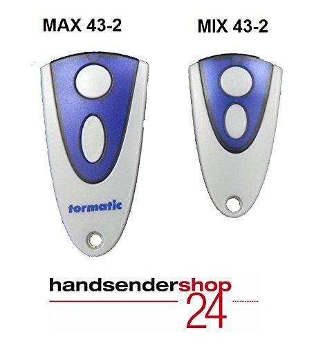 Tormatic Mini-Handsender MIX 43-2 Novotron 512