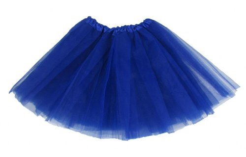 Royal Blue Dance Or Ballet Tutu front-635681
