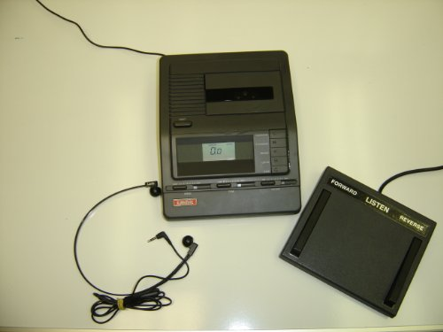 Lanier Vw-210 Vw 210 Microcassette Transcriber With Pedal And Headset