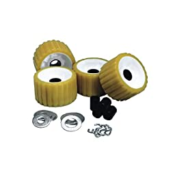 CE SMITH RIBBED ROLLER REPLACEMENT KIT 4 PACK GOLD \