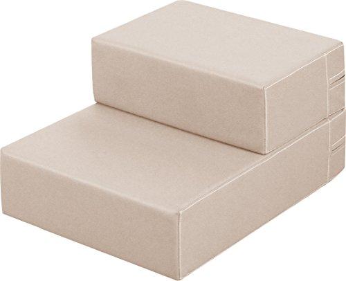 ottostyle.jp ドッグステップ Mサイズ 40cm×44cm×15cm (ベージュ) 愛犬のソファやベッドの昇り降りに!ドッグステップで安心・安全!