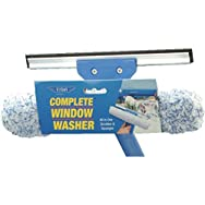 Ettore 15010 Complete Window Washer-SCRUBBER/SQUEEGEE